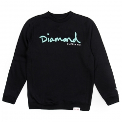 DMD SWT CREW OG SCRIPT BLK XL - Click for more info