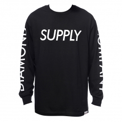 DMD LS TEE DMD SUPPLY BLK S - Click for more info