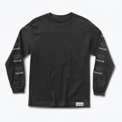 DMD LS TEE OG SIGN BLK S - Click for more info