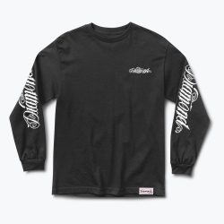 DMD LS TEE GIANT SCRIPT BLK M - Click for more info