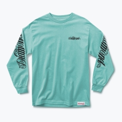 DMD LS TEE GIANT SCRIPT BLU M - Click for more info