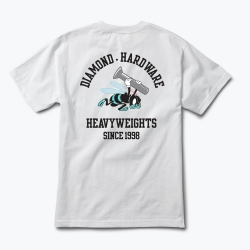 DMD TEE BLUE HORNETS WHT L - Click for more info