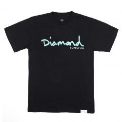 DMD TEE OG SCRIPT BLK L - Click for more info