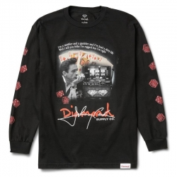 DMD LS TEE RAGGED BLK L - Click for more info