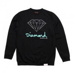 DMD SWT CREW OG SIGN BLK XL - Click for more info