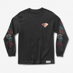 DMD LS TEE TROTTER BLK L - Click for more info