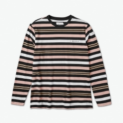 DMD LS TEE MARQUISE STRP BLK M - Click for more info