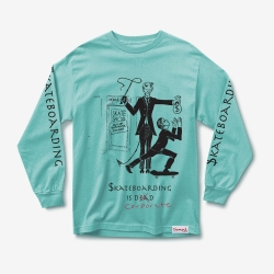 DMD LS TEE SKATE CRIME DBLU S - Click for more info