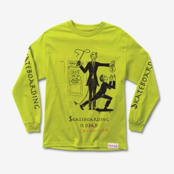 DMD LS TEE SKATE CRIME GRN L - Click for more info