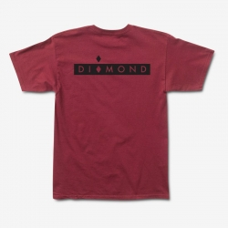 DMD TEE MARQUISE SP19 BUR M - Click for more info