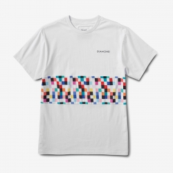 DMD TEE PIXEL PANEL WHT M - Click for more info