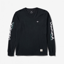 DMD LS TEE MICRO BRILLNT BLK L - Click for more info