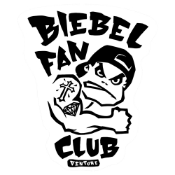 VNT STKR BIEBEL FANCLUB 10PK - Click for more info