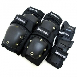 IND PAD SET 3-IN-1 BLK CAP XS - Click for more info