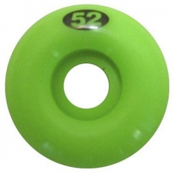 FRM WHL LIME GREEN 52MM - Click for more info