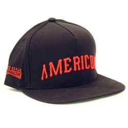 MH CAP ADJ AMERICON BLK - Click for more info