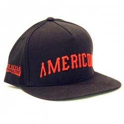 MH CAP ADJ AMERICON BLK - Click for more info