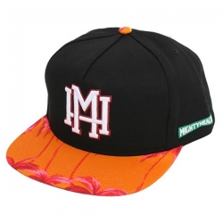 MH CAP ADJ ENDLESS BLK/ORG - Click for more info