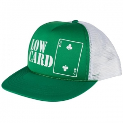 LWCRD CAP TRKR GRN/WHT - Click for more info