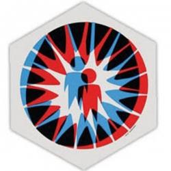 AWS STKR DIECUT STARBURST 10PK - Click for more info