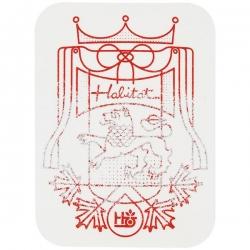 HAB STKR REGALIA 10PK - Click for more info
