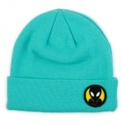 AWS BEANIE DOT TEAL - Click for more info
