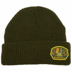 AWS BEANIE OG LOGO GRN - Click for more info