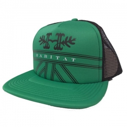 HAB CAP TRKR CREST GRN - Click for more info