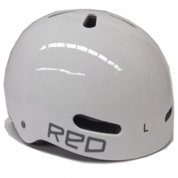 RED HLMT RIOT EPS WHT L - Click for more info