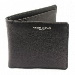 GRZ WALLET BIFOLD PEBBLED BLK - Click for more info