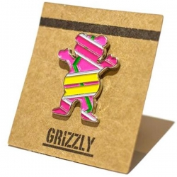 GRZ PIN HOVER BEAR - Click for more info