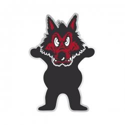 GRZ STKR WOLFPACK BEAR 10PK - Click for more info