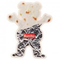 GRZ STKR BURRITO BEAR 10PK - Click for more info