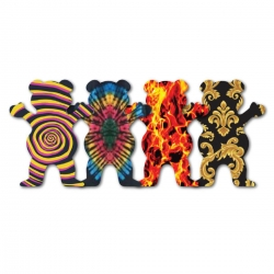 GRZ STKR XL BEAR F19 STKR 10PK - Click for more info