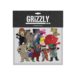 GRZ STKR CHARACTER SP18 15PK - Click for more info