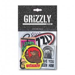 GRZ STKR NATURAL MIXED 10PK - Click for more info