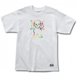 GRZ TEE FOURSTAR WHT M - Click for more info