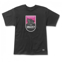 GRZ TEE MOUNTAIN HGH BLK M - Click for more info