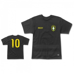GRZ TEE BRAZIL MUNDIAL BLK XL - Click for more info