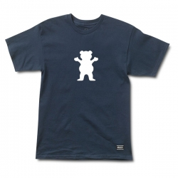 GRZ TEE OG BEAR LOGO NVY XL - Click for more info