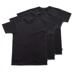 GRZ TEE TAGLESS 3PK BLK L - Click for more info