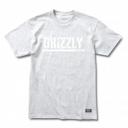GRZ TEE OG STAMP LOGO ASH M - Click for more info