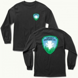 GRZ LS TEE NATIONAL PRK BLK M - Click for more info