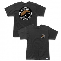 GRZ TEE EST PAW BLK XL - Click for more info