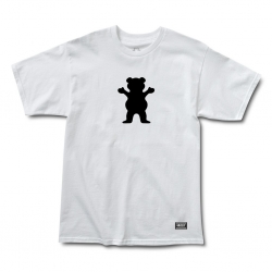 GRZ TEE OG BEAR LOGO WHT XL - Click for more info