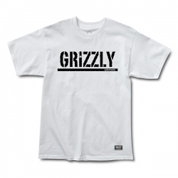 GRZ TEE OG STAMP LOGO WHT M - Click for more info
