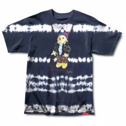 GRZ TEE TOREY BEAR NVY TDYE L - Click for more info