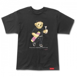 GRZ TEE COBRA COLE BEAR BLK L - Click for more info