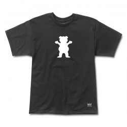 GRZ TEE OG BEAR LOGO BLK M - Click for more info