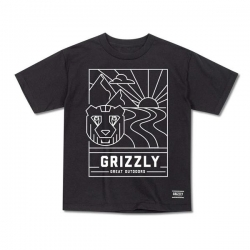 GRZ YT TEE LINESCAPE BLK S - Click for more info